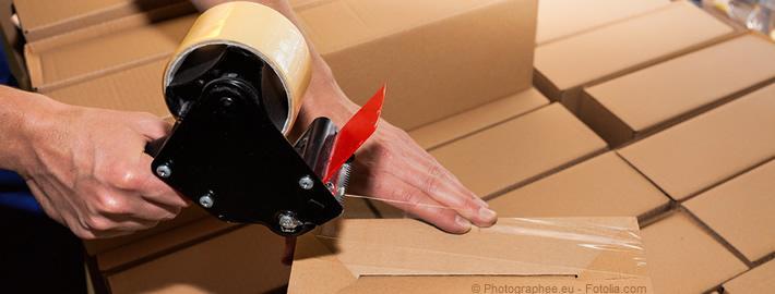 Eine Kartonschachtel muss stabil sein und den Inhalt schützen.