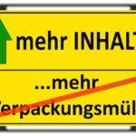 Verpackungsmaterial: Viel Luft in den Verpackungen
